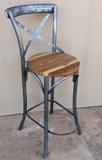 Wooden & Iron chair