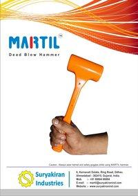 MARTIL Dead Blow Hammer SIDH-50