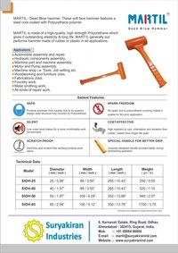 MARTIL Dead Blow Hammer SIDH-65