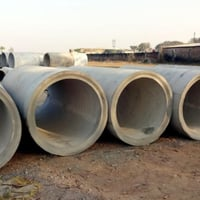 900 mm NP3 Cement Hume Pipe
