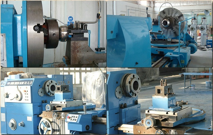 Leading supplier ball valve turning lathe machining sphere
