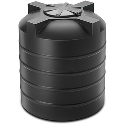 Plastic storage water tank