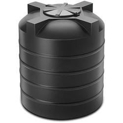 Plastic storage water tank