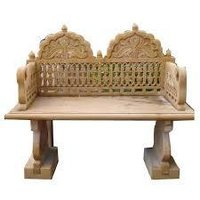 Decorative Marble Bench