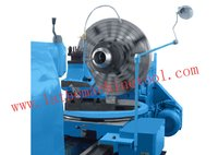 Spherical polishing machine for machining a sphere