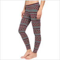 Printed Cotton Leggings