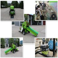 Small silage baler automatic bales making machinery