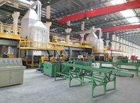 High efficiency valve making machines