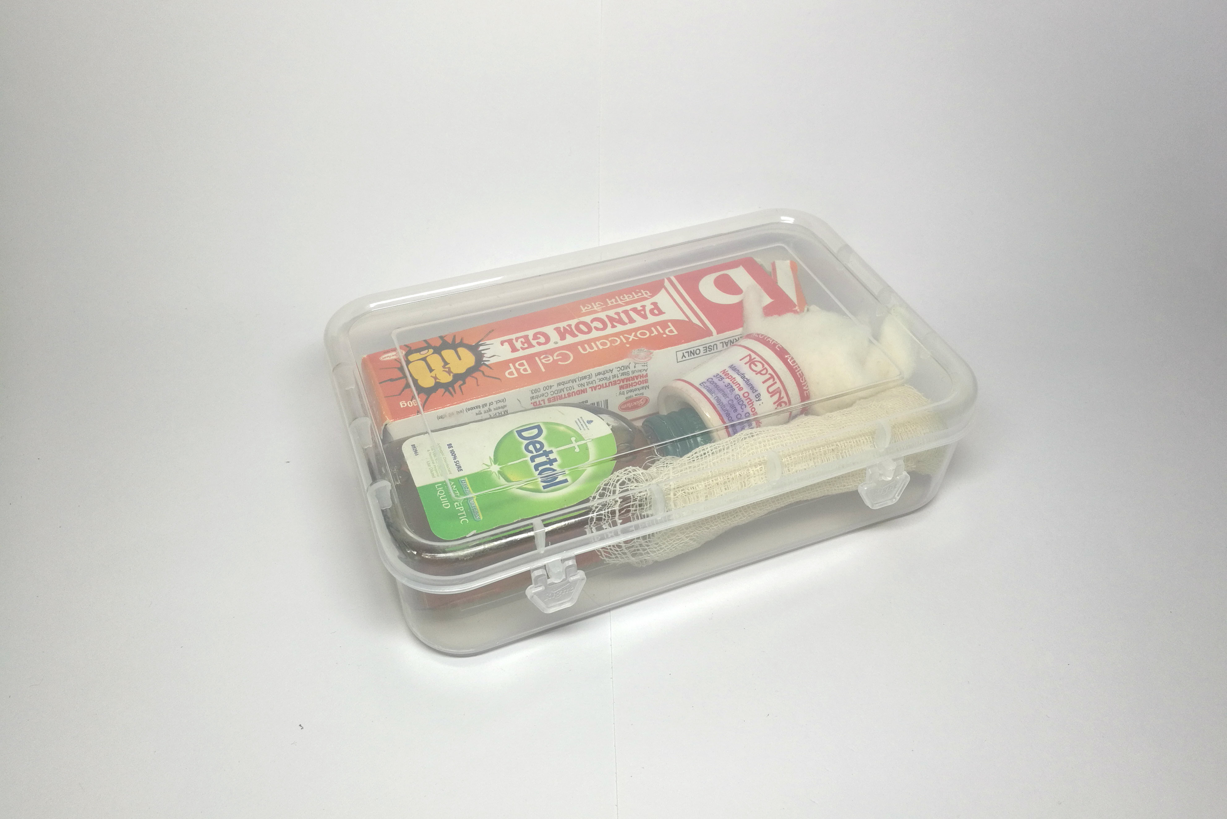 Rectangle Transparent Plastic Box