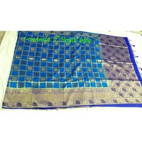 Bonga silk elephant rich pallu contrast with contrast plain