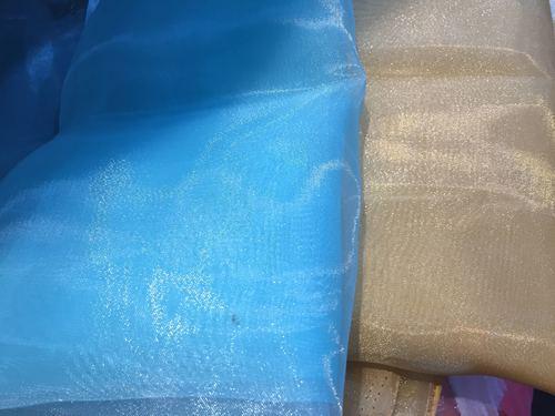 Polyester organza tissue fabrics