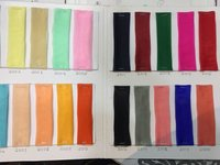 Organza tissue fabrics