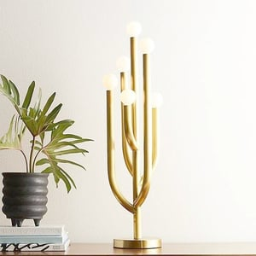 SIX ARM TABLE LAMP