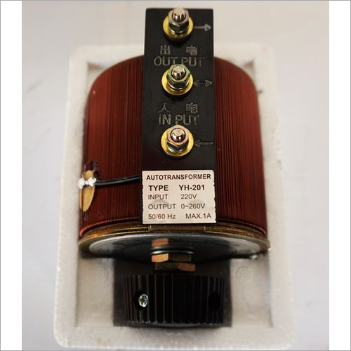 Single Phase 110 V Variable Transformer