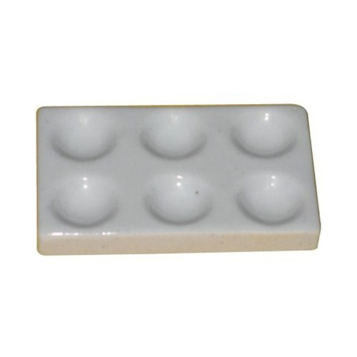Cavity Plate Porcelain