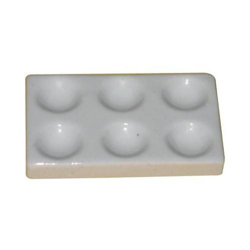 Cavity Plate Porcelain