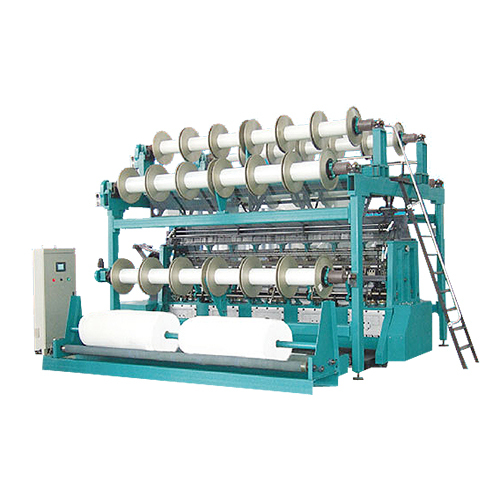 Automatic Double Needle Bar Raschel Machine