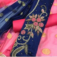 Designer Suit ( Unstitiched Dress Material )
