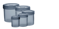 Round Printed Containers