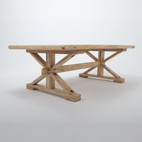 Post n Beam coffee table