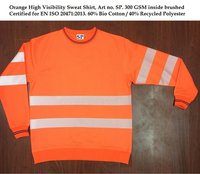 Orange High Visibility Sweat Art SP