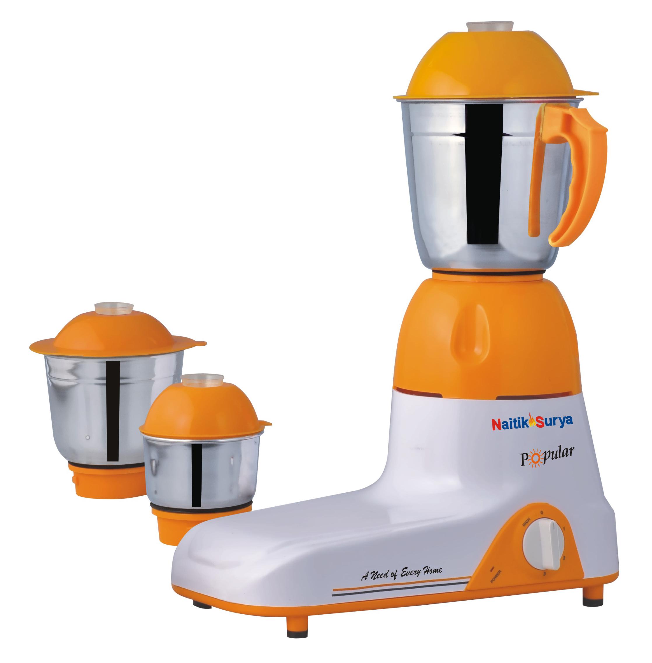 Naitiksurya Mixer Grinder 3jar 750 Watts Balano