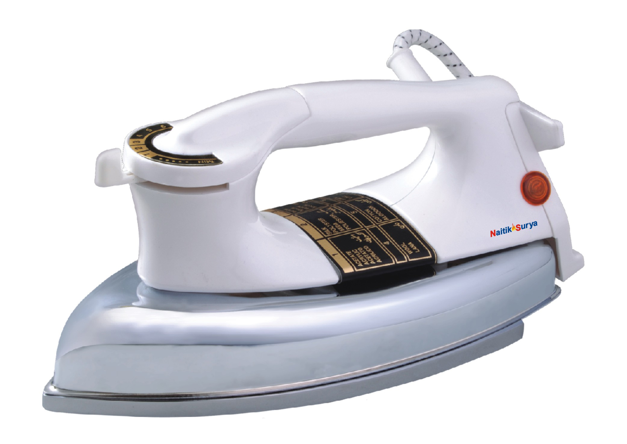 ELECTRIC IRON PLANCHA GOLD  DELUXE
