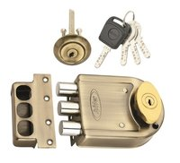 Tri Bolt Door Lock (DLTB03AB)