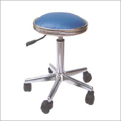 Anti-Statics Leather Blue Stool