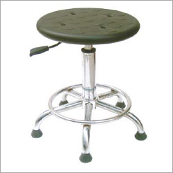 Anti-Statics Leather Adjustable Stool