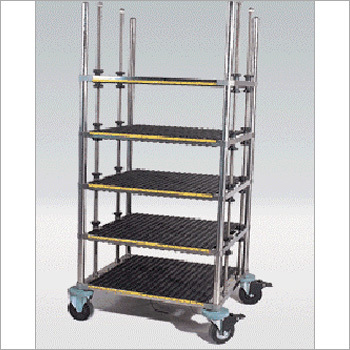 Steel PCB Storage Cart