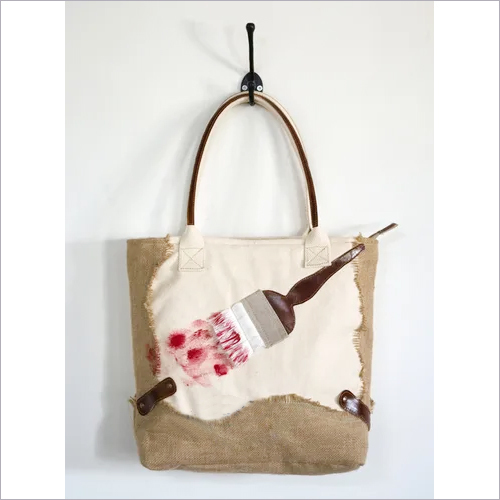 Paint Brush Front Bag
