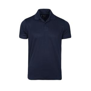 Black Plain Polo T Shirts