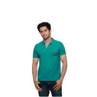 Collar Neck Printed Half Sleeves Polo T-Shirts