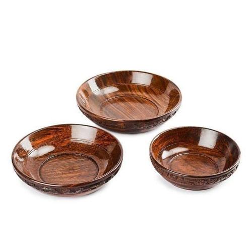 Wooden Shape Bowl