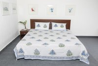 Latest Block Print Bed Sheets