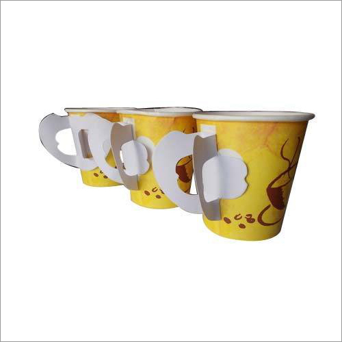 Disposable Paper Tea Cups With Handles