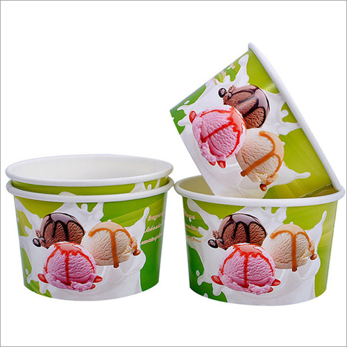 Custom Printed Paper Ice Cream Cup