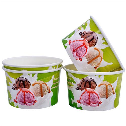 Custom Printed Paper Ice Cream Cup
