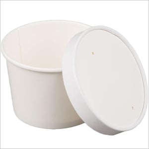 Paper Bowl with Paper Lid