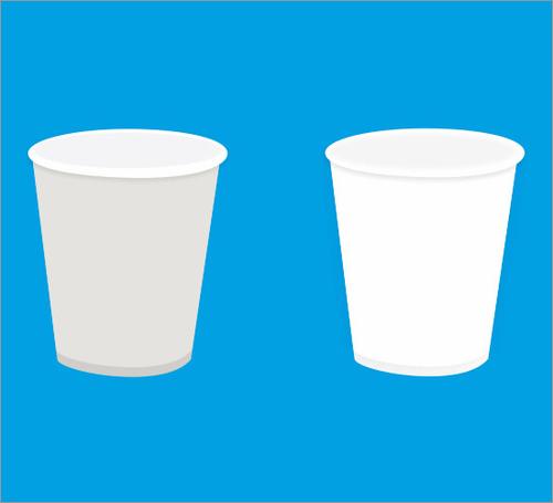 White Plain Paper Cup