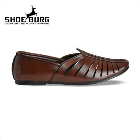 66e50c98cad9a Mens Ethnic Leather Shoes - SHUBH AADITYA ENTERPRISES, Khasra No. 9, Mouja  Kalwari, Bodla Bichpuri Road, Shastripuram, , Agra, India