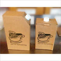 Corrugated Paper Tea Flask