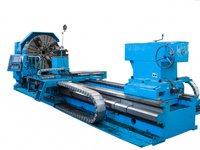 Large-sized Heavy Conventional Lathe Metal Processing C61160 with max.weight of workpiece 16t