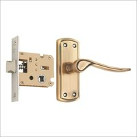 Zinc Concealed Latch Lock Set