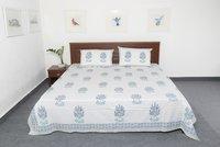 Hand Block Bedsheet
