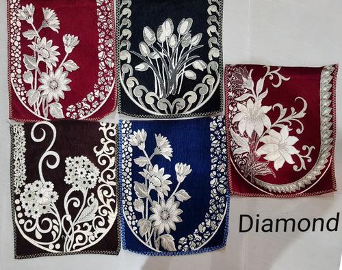 Embroidered Sofa Panel