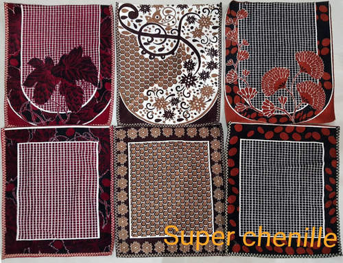 Chenille Sofa Panel Cover