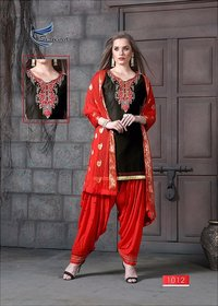 Patiala Cotton Salwar Kameez