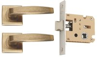 Zinc Mortice Concealed  Latch  Lock Set (KBL + ZZ01CBAB)